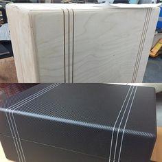 Finishing up a run of our carbon fiber turntable cases. #scratchcasecompany #scratchcase #scratchcaseco #dj #djlife #djgear #mobiledj #seratodj #pioneerdj #weddingdj #technics #technics1200 #turntable #turntablism #turntablecase #carbonfiber #madeinusa #hiphop #edm #gearporn #officalranedj #handcraftedintheusa #ranedj #follow #rane62 #nowspinning @serato @pioneerdj_gear @pioneerdjusa @pioneerofficial by scratchcase http://ift.tt/1HNGVsC