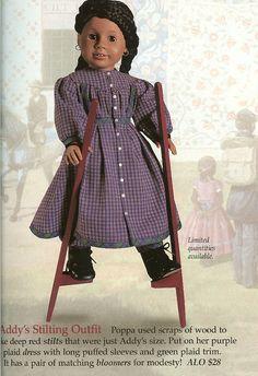 New American Girl Doll ADDY School Slates Wooden AG