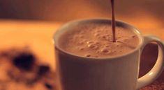 Gif chocolat chaud