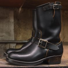 Engineer Boots, Biker, Leather, Shoes, Fashion, Moda, Zapatos, Shoes Outlet, Fashion Styles