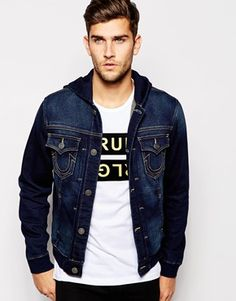 True Religion Sweat Jacket Danny Trucker