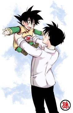 Tags: Anime, DRAGON BALL, Son Goten, Son Gohan, Artist Request