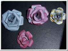 Rosas de Cartulina