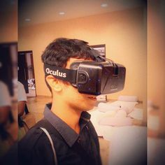 An awesome Virtual Reality pic! #VirtualReality #Oculus #oculusvr #Startup #Gaming #Technology #Facebook #Acquired #Venture #AI #Artificial_Intelligence #Revolutionary #Product #Algorithm #Entrepreneurship @oculus by akhilmenonz1 check us out: http://bit.ly/1KyLetq