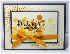 Thursday, August 28, 2014 Scrappin' and Stampin' in GJ: Kinda Eclectic honey, daffodil, black and vanilla