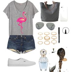 Untitled #110 by dias-elodieferreira on Polyvore featuring polyvore fashion style H&M rag & bone/JEAN Vans Independent Reign Forever 21 Ray-Ban Marc Jacobs