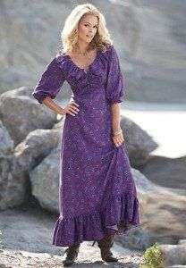 Mother of Bride/Groom-Western Style Shirt Dress