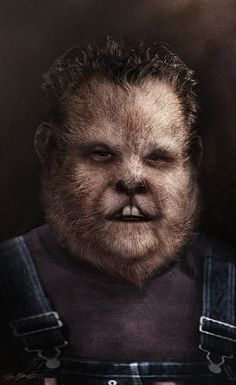 Beautiful portraits of Grimm's fairy tale monsters are worth a spot on your wall