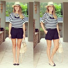 J's Everyday Fashion provides outfit ideas, budget fashion, shopping on a budget, personal style inspiration, and tips on what to wear. Spring Summer Fashion, Autumn Fashion, Js Everyday Fashion, Budget Fashion, Striped Tee, Love Fashion, Casual, What To Wear, Short Dresses