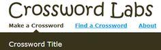 Το Crossword Labs είναι ένα εργαλείο δημιουργίας σταυρόλεξου. Δείτε πώς μπορεί να χρησιμοποιηθεί στην εκπαιδευτική διαδικασία στο www.neestexnologies.weebly.com