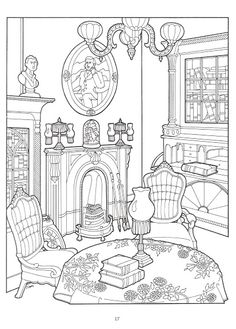 The Victorian House coloring book - Nena bonecas de papel - Álbumes web de Picasa