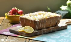 This gluten free lemon pound cake recipe is perfectly tart, sweet and tipsy with the addition of both fresh-squeezed lemon juice and Italian Limoncello!