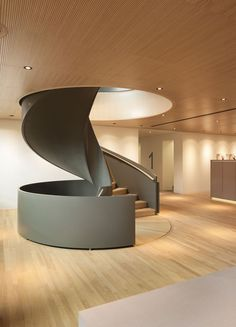 Professionals in staircase design, construction and stairs installation. In addition EeStairs offers design services on stairs and balustrades. Interior Stairs, Interior Architecture, Staircase Architecture, Escalier Design, Modern Stairs, Modern Railing, Staircase Design, Staircase Ideas, Stair Design