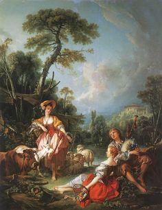 Ποιμενικός βίος το καλοκαίρι  1749