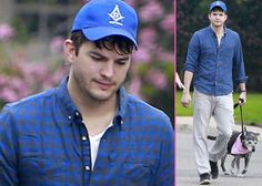Here's Ashton Kutcher wearing a Masonic hat.i guess they know what they are putting on right .. so these symbols are  not by chance