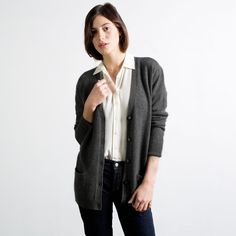 The Slouchy Cashmere Cardigan - Everlane