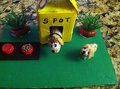 Peanut Pooches (discodiva1979) Tags: cute dogs fun miniatures ooak crafts canine peanut imagination diorama pooches