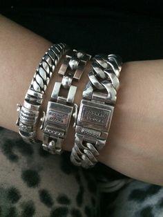 All my bracelets from Buddha To Buddha ❤️. Www.buddhatobuddha.com Names from left to right: ben junior, batul junior, chain small.