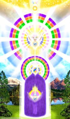 The Violet Flame Ray