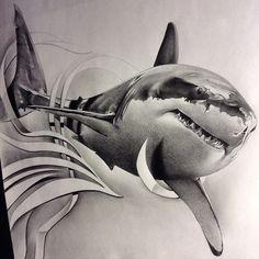 Tatoo de requin <3 *******