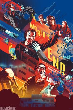 Awesome Mondo Poster Art for THE WORLD'S END — GeekTyrant
