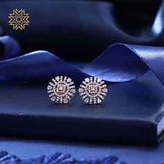 Diamond Solitaire Earrings H I – Modern Jewelry Diamond Earrings Indian, Diamond Solitaire Earrings, Diamond Earing, Diamond Studs, Diamond Jewelry, Emerald Diamond, Silver Jewelry, Diamond Heart, Indian Jewelry