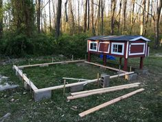 Old Coop Upgraded Into Beautiful New Chicken Home Chicken Home, Diy Chicken Coop, Box Building, Keeping Chickens, Nesting Boxes, Run Around, Side Door, Cinder, Chickens Backyard