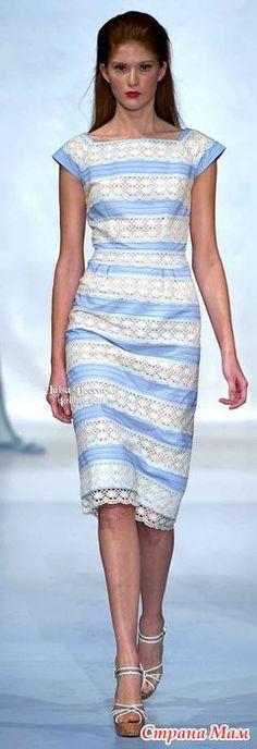 Здравствуйте, рукодельницы-труженицы!!! Нашла в интернете платье. Здесь:https://www.pinterest.com/pin/538391330447353852/ или здесь http://bcr8tive.com/ Может у кого-то есть схема кружева?