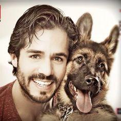 josé ron 2014 - Google keresés Man Images, Shepherd Dog, Beauty And The Beast, Famous People, Sexy Men, Beautiful People, Actors, Celebrities, Dogs