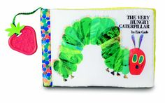 Plastic/Soft Book- Follow The Very Hungry Caterpillar while he eats his way through one apple all the way to becoming a beautiful butterfly in this great on-the-go book! This soft paged book includes crinkle and a plastic spine perfectly sized for you're little one's grip!