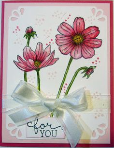 Crafty Maria's Stamping World: For You - Helping me Grow - Card 2