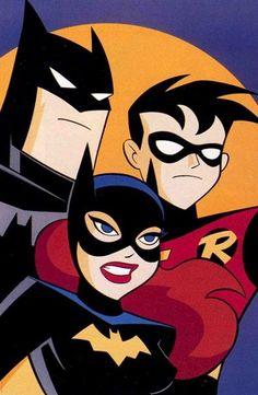 BATMAN: ANIMATED — The team.