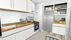 Kitchen Counter And Cabinets Set For The Sims 4 The Sims