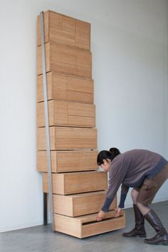 Zocalo furniture makes it possible to to furnish and make a house in your own way. You are going to be surprised you don't necessarily will need to enlist in expensive furniture making courses or pay for several furniture building… Continue Reading → Unique Wood Furniture, Room Furniture Design, Folding Furniture, Multifunctional Furniture, Space Saving Furniture, Living Room Furniture, Diy Furniture, Furniture Storage, Expand Furniture