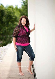 Introducing my beautiful curvaceous model, Jaren! Isn't she gorgeous?!