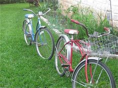 These remind me of childhood. Summer nights. Ice cream. And neighborhood bike rides.