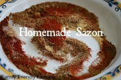 Homemade Sazon