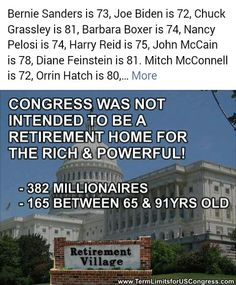 TERM LIMITS NEEDED!!!!!!!