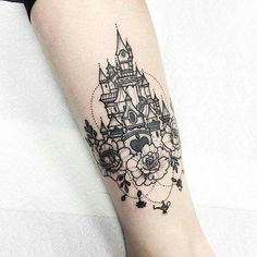 Absolutely love this tattoo. If you love Disney this is ideal!