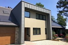 Zinc Cladding, House Cladding, Cladding Panels, Zinc Roof, Metal Roof, Roofing Services, Roofing Contractors, Modern Barn House, Agricultural Buildings