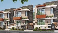 Af country style houses by art form architecture country Row House Design, Duplex House Design, Home Building Design, Duplex House Plans, House Design Photos, Cool House Designs, Form Architecture, House Architecture Styles, Architecture Portfolio