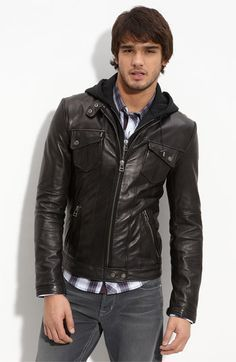 on sale 7653f 1955d Denim Jeans Men, Leather Jeans, Mens Leather Coats, Tight Leather Pants,  Leather
