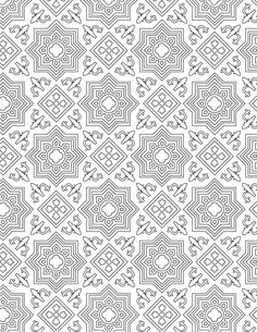 Home Decorating Style 2020 for Coloriage Mosaique A Imprimer Gratuit, you can see Coloriage Mosaique A Imprimer Gratuit and more pictures for Home Interior Designing 2020 14916 at SuperColoriage. Geometric Coloring Pages, Pattern Coloring Pages, Mandala Coloring Pages, Coloring Book Pages, Printable Coloring Pages, Coloring Sheets, Islamic Art Pattern, Arabic Pattern, Pattern Art