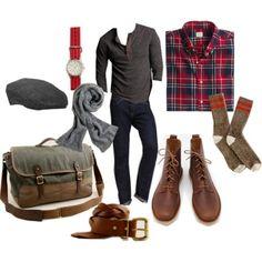 Cabin Look Men's Fashion