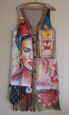 MyBonny - Frida Studio Wear - Collage Clothing Wearable Folk Art