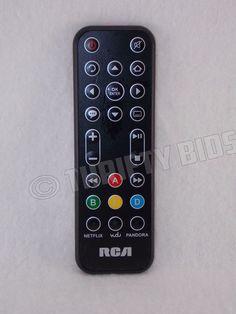 Genuine OEM RCA DSB772E Wifi Streaming Media Player Remote Control Original #RCA