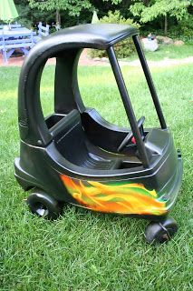 cozy coupe makeover instructions