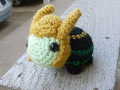 Crochet Loki Turtle by Skeeboo on Etsy, $13.00. I just really need this.