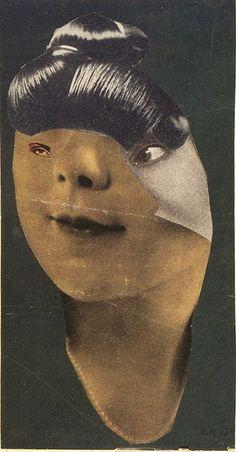 German Girl, 1930 by Hannah Höch.