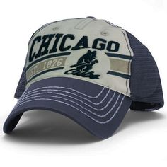Looking for officially MLB licensed Wrigleyville sports gear? Reach out to Sports World Chicago for Chicago Cubs merchandise, such as shirts, jerseys, hats etc. House Of David, Cubs Merchandise, Cubs Hat, Cubbies, Chicago Cubs, Fitness Fashion, Mesh, Cap, Baseball